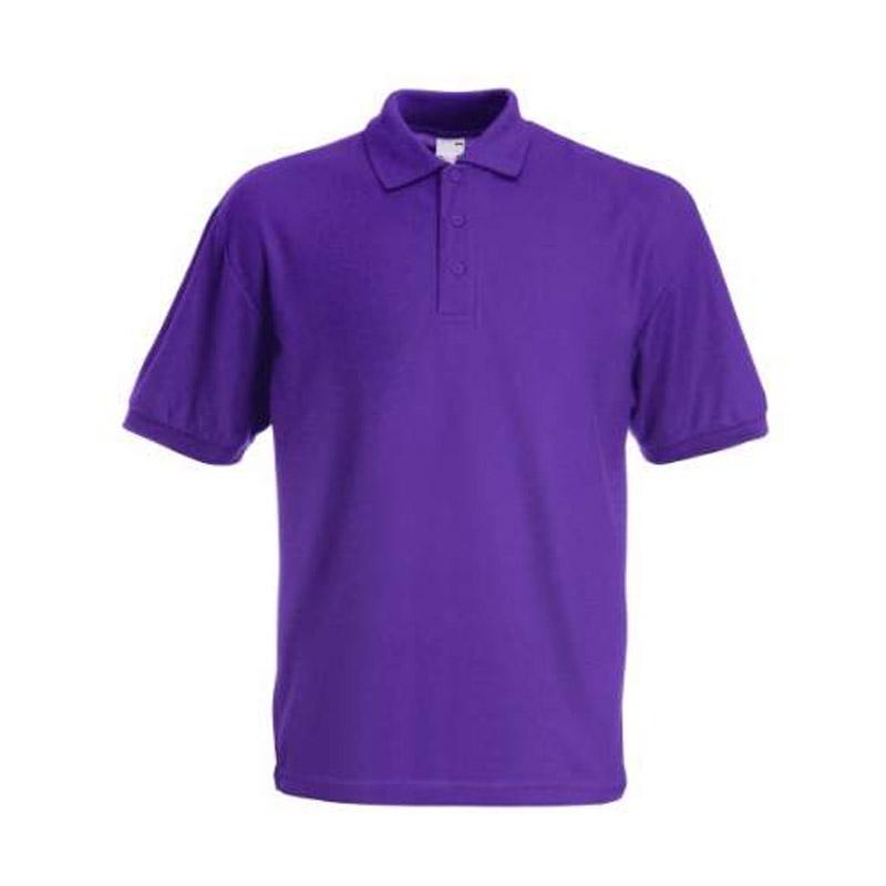 Purple Polo Shirt Klassy Kids School Uniform