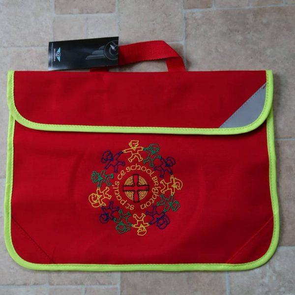 KS1 red bookbag